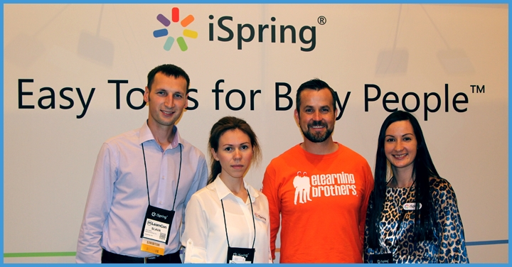 iSpring на конференции mLearnCon