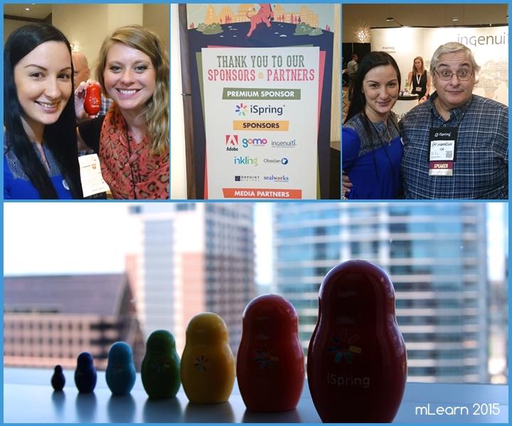 iSpring с участниками конференции, mLearnCon 2015