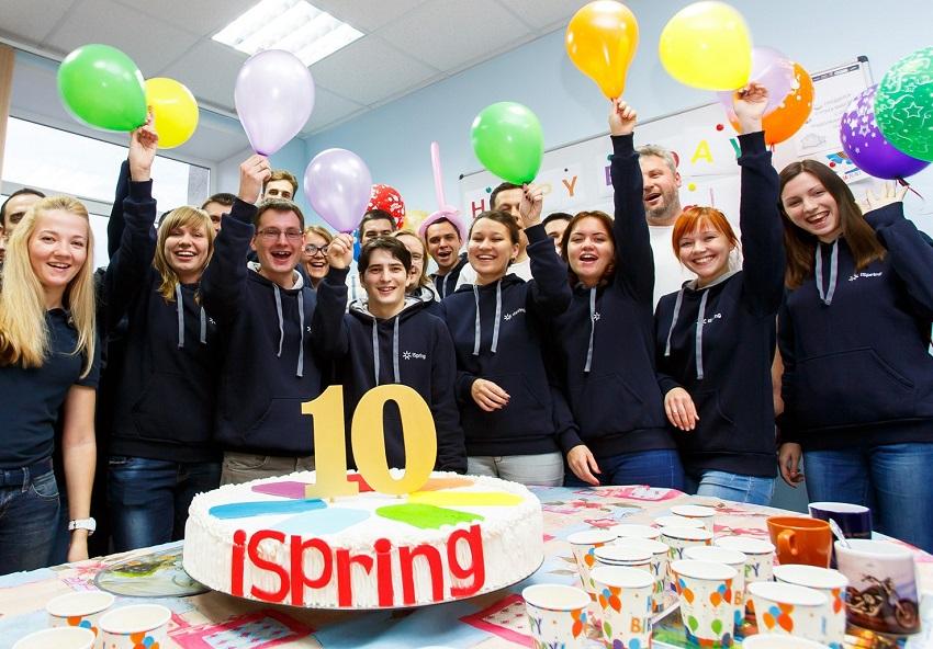 iSpring 10 лет