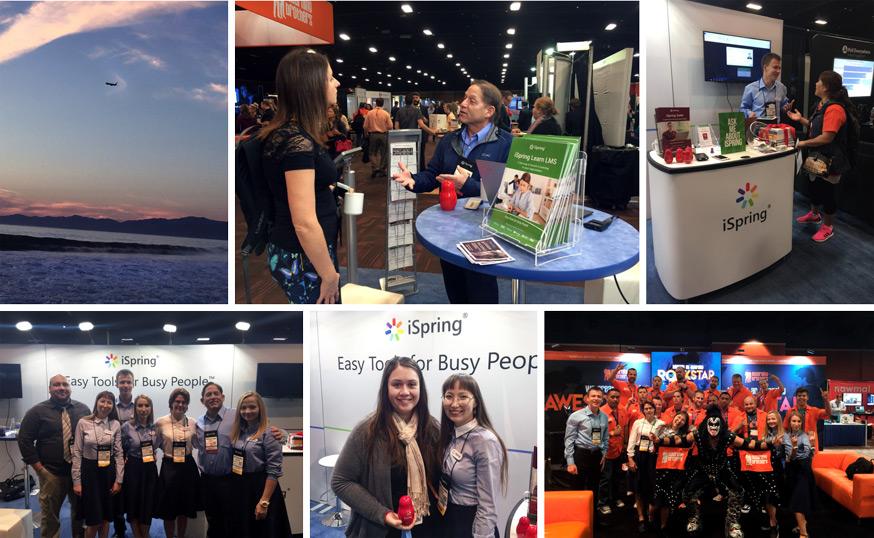 iSpring на конференции DevLearn 2016