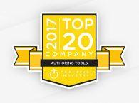 iSpring в top 20 инструментов для разработки курсов