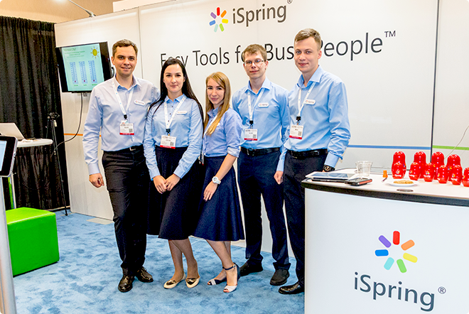 iSpring на Learning Solutions 2017