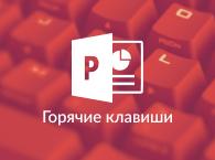 Горячие клавиши PowerPoint